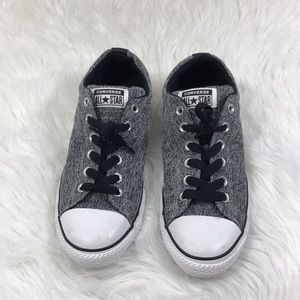 46e457a33c0a Converse Shoes - All Star Graphite Textured Street Low Top Sneaker